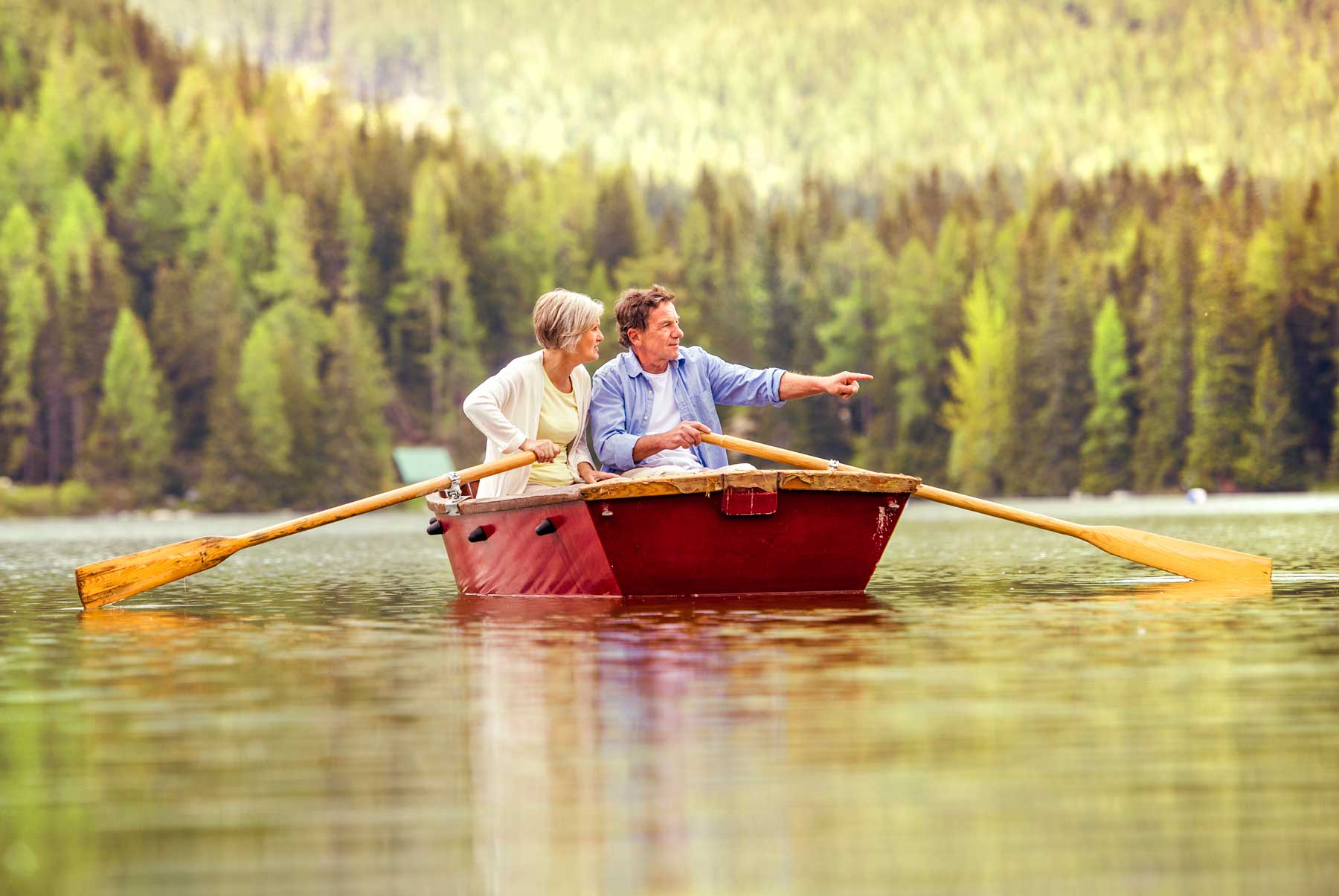 Row your own boat! Springwater Hill is a lake community with access to all the joys of lake living