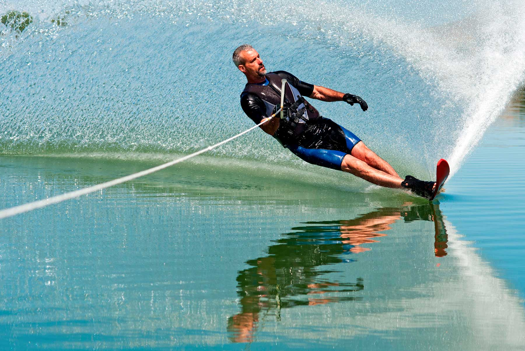 Springwater Hill Columbia Lake - waterskiing