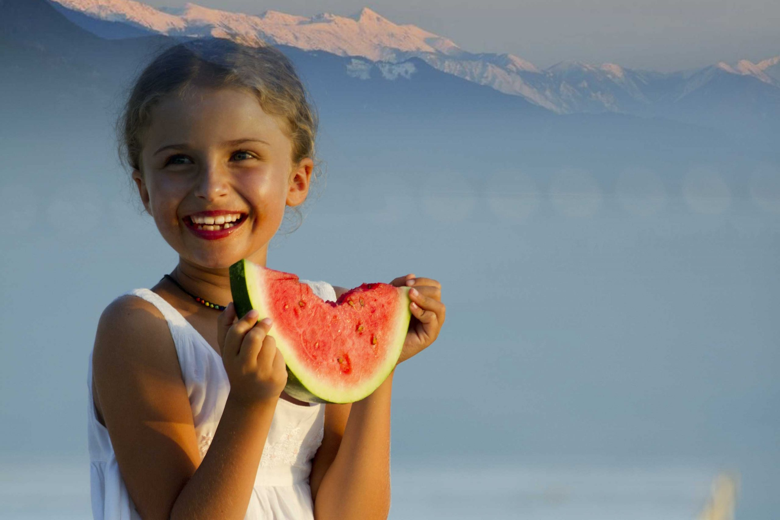 Watermelon by the lake - just south of Invermere BC