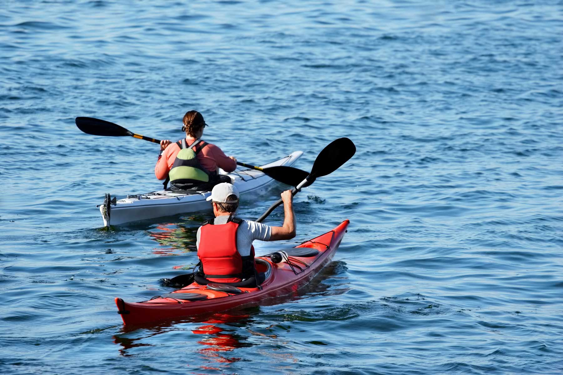 Escape the city - Kayaking at Springwater Hill on the Columbia Lake