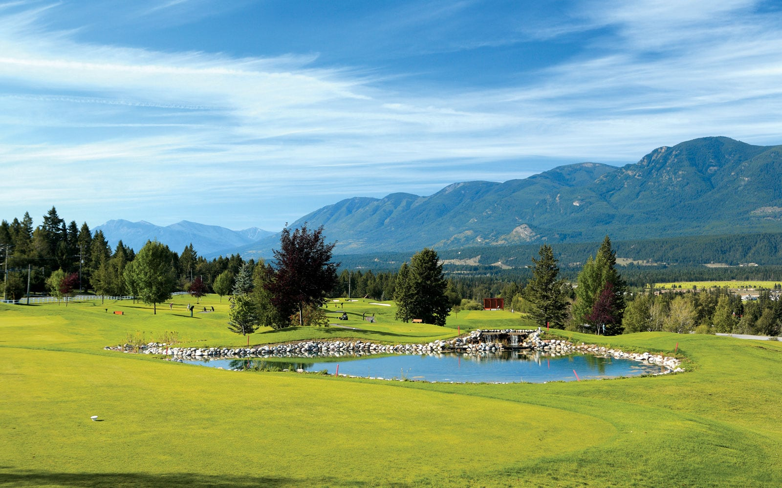 Fairmont Hot Springs Golf - Creekside Golf Course - Just south of Springwater Hill