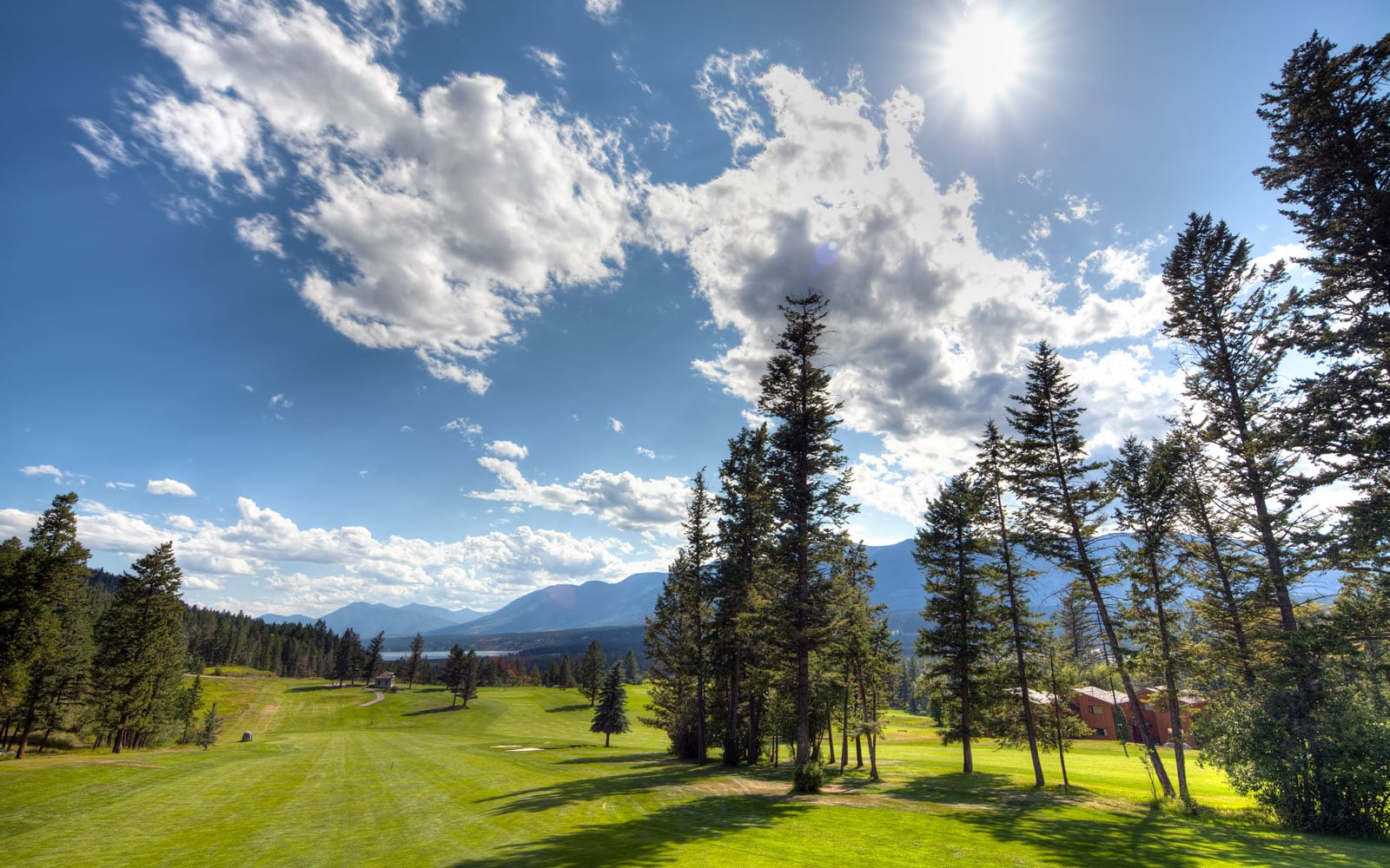 Fairmont Hot Springs Golf - Mountainside Golf Course - Just south of Springwater Hill