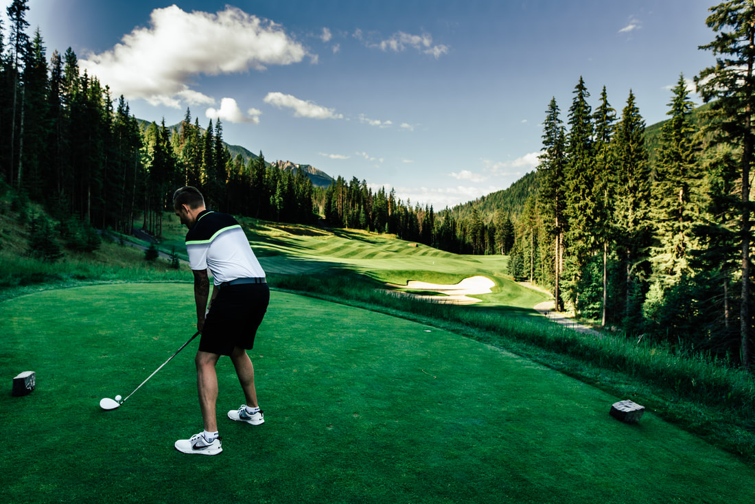 Springwater Hill Grey Wolf Golf Course Panorama BC